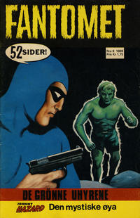 Cover Thumbnail for Fantomet (Romanforlaget, 1966 series) #6/1969