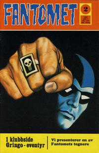 Cover Thumbnail for Fantomet (Romanforlaget, 1966 series) #2/1972