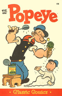 Cover Thumbnail for Classic Popeye (IDW, 2012 series) #28