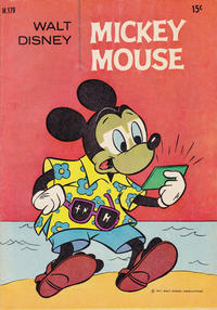 Cover Thumbnail for Walt Disney's Mickey Mouse (W. G. Publications; Wogan Publications, 1956 series) #179