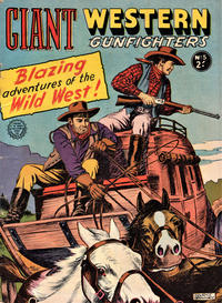 Cover Thumbnail for Giant Western Gunfighters (Horwitz, 1962 series) #5
