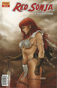 Cover Thumbnail for Red Sonja (Dynamite Entertainment, 2005 series) #57 [Cover A]