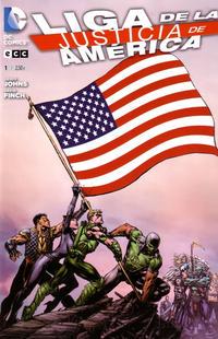Cover Thumbnail for Liga de la Justicia de América (ECC Ediciones, 2013 series) #1