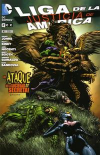 Cover Thumbnail for Liga de la Justicia de América (ECC Ediciones, 2013 series) #4