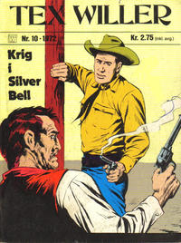 Cover Thumbnail for Tex Willer (Illustrerte Klassikere / Williams Forlag, 1971 series) #10/1972