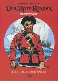 Cover Thumbnail for Der Rote Korsar Gesamtausgabe (Egmont Ehapa, 2013 series) #1 - Der Teufel der Karibik