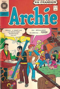 Cover Thumbnail for Archie (Editions Héritage, 1971 series) #12