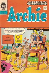 Cover Thumbnail for Archie (Editions Héritage, 1971 series) #31