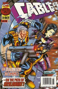 Cover Thumbnail for Cable (Marvel, 1993 series) #32 [Newsstand]