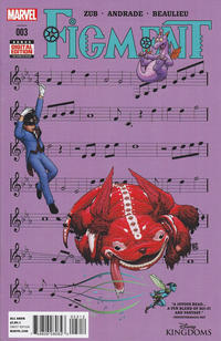 Cover Thumbnail for Disney Kingdoms: Figment (Marvel, 2014 series) #3 [2nd Printing]