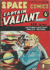 Cover Thumbnail for Space Comics (Arnold Book Company, 1953 series) #74