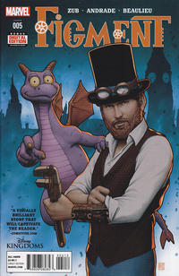 Cover Thumbnail for Disney Kingdoms: Figment (Marvel, 2014 series) #5 [2nd Printing]