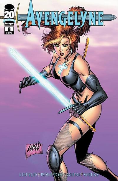 Cover for Avengelyne (Image, 2011 series) #8