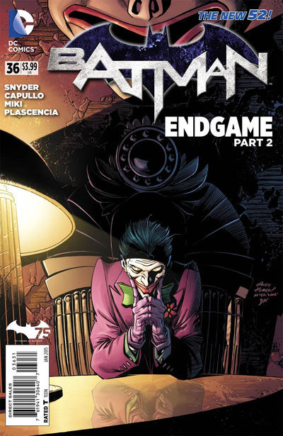 Cover for Batman (DC, 2011 series) #36 [Direct Sales]