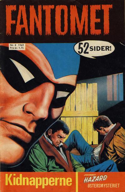 Cover for Fantomet (Romanforlaget, 1966 series) #8/1969