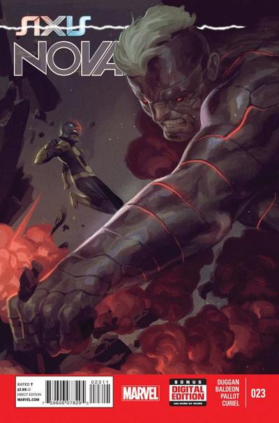 Cover for Nova (Marvel, 2013 series) #23