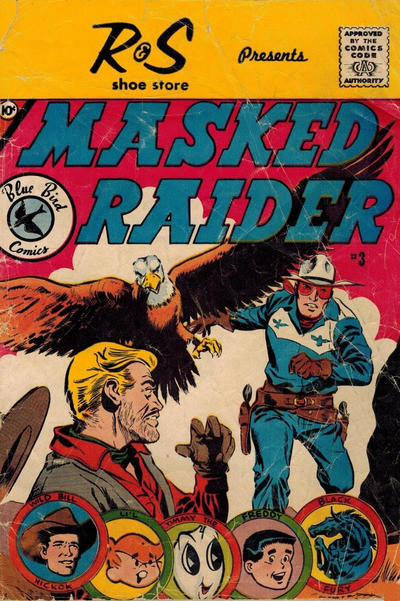 Cover for Masked Raider (Charlton, 1959 series) #3 [Schiff's Shoes]