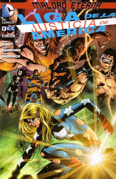 Cover for Liga de la Justicia de América (ECC Ediciones, 2013 series) #11