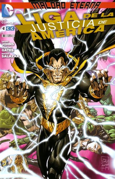 Cover for Liga de la Justicia de América (ECC Ediciones, 2013 series) #8