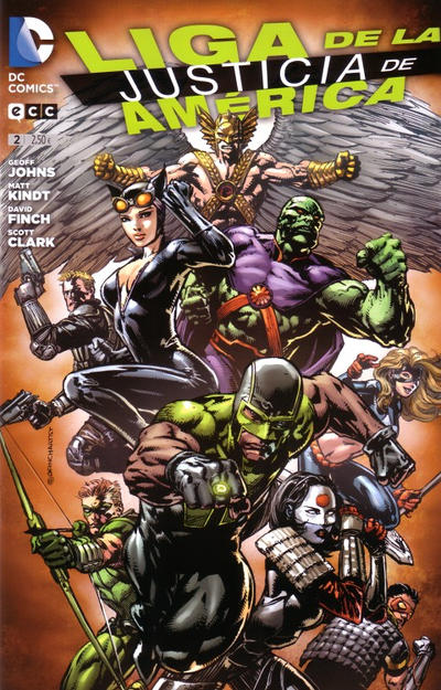 Cover for Liga de la Justicia de América (ECC Ediciones, 2013 series) #2