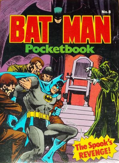 Cover for Batman Pocketbook (Egmont/Methuen, 1978 series) #8