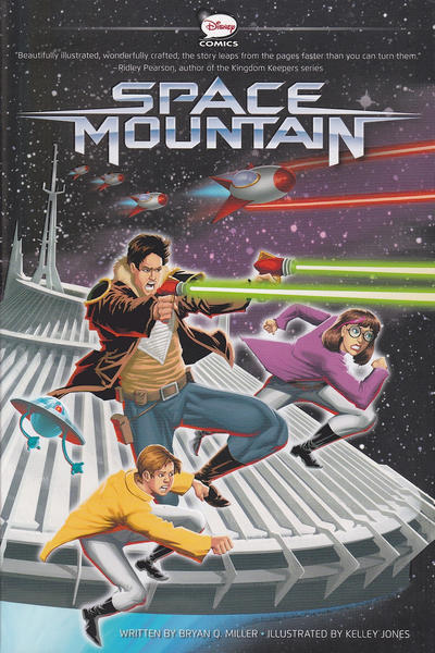 Cover for Space Mountain (Disney, 2014 series)