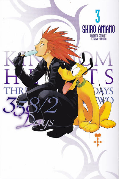 Cover for Kingdom Hearts: 358/2 Days [Kingdom Hearts: Three Five Eight Days Over Two] (Yen Press, 2013 series) #3