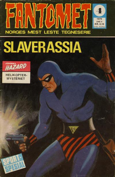 Cover for Fantomet (Romanforlaget, 1966 series) #4/1970
