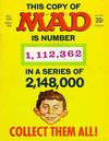 Cover Thumbnail for Mad (1952 series) #123 [1,112,362 Cover]