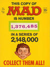 Cover Thumbnail for Mad (1952 series) #123 [1,376,485 Cover]