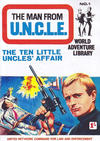 Cover for Man from U.N.C.L.E. World Adventure Library (World Distributors, 1966 series) #1