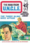 Cover for Man from U.N.C.L.E. World Adventure Library (World Distributors, 1966 series) #2
