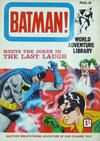 Cover for Batman World Adventure Library (World Distributors, 1966 series) #2