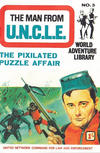 Cover for Man from U.N.C.L.E. World Adventure Library (World Distributors, 1966 series) #3