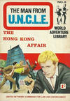 Cover for Man from U.N.C.L.E. World Adventure Library (World Distributors, 1966 series) #6