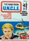 Cover for Man from U.N.C.L.E. World Adventure Library (World Distributors, 1966 series) #4