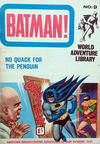 Cover for Batman World Adventure Library (World Distributors, 1966 series) #9