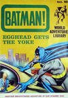 Cover for Batman World Adventure Library (World Distributors, 1966 series) #10