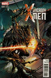 Cover for Uncanny X-Men (Marvel, 2013 series) #28 [Rocket Raccoon and Groot Variant by Ariela Kristantina]