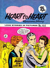 Cover for Heart to Heart Romance Library (K. G. Murray, 1958 series) #102