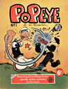 Cover for Popeye (World Distributors, 1950 ? series) #1