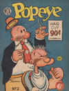 Cover for Popeye (World Distributors, 1950 ? series) #2