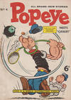 Cover for Popeye (World Distributors, 1957 series) #4