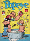 Cover for Popeye (World Distributors, 1950 ? series) #6