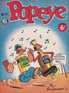 Cover for Popeye (World Distributors, 1950 ? series) #7