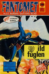 Cover Thumbnail for Fantomet (Romanforlaget, 1966 series) #10/1970