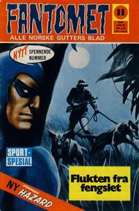 Cover Thumbnail for Fantomet (Romanforlaget, 1966 series) #11/1970