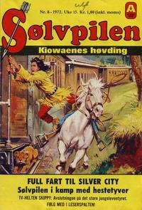 Cover Thumbnail for Sølvpilen (Allers Forlag, 1970 series) #8/1972