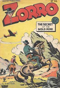 Cover Thumbnail for Zorro (L. Miller & Son, 1952 series) #52
