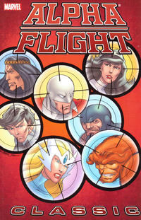 Cover Thumbnail for Alpha Flight Classic (Marvel, 2007 series) #2
